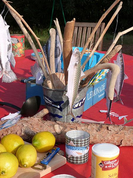 table sardinade
