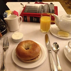 "#princesbreifcase: Contracts and legal analysis. #whatsprinceeating: ""Toasted Bagel w/ orange juice and hot tea"" www.princesdailyjournal.com #princesdailyjournal #princeinthecity #lawschool #suffolklaw #breakfast #foodie #foodart #myfab5 @bestfoodboston #"
