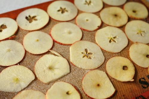 Gedroogde appeltjes