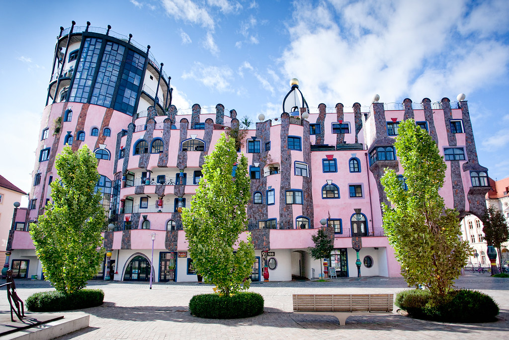 12 Bizarly Beautiful Hundertwasser Buildings With Photos