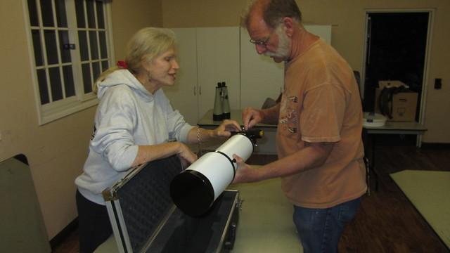 IMG_4838 angie paul refractor SBAU telescope workshop