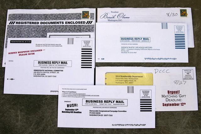 DNC junk mail