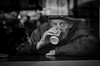 B&W Street Portraits London by Búzás Botond Photography