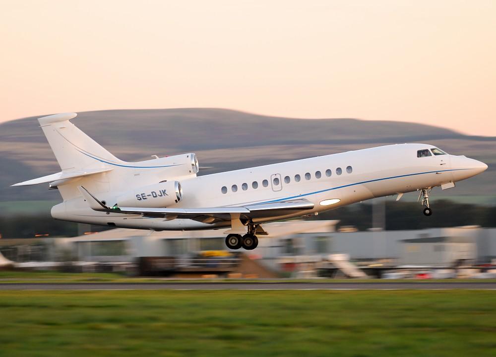SE-DJK - FA7X - Wind Jet