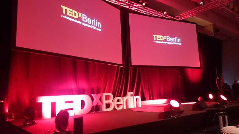 TEDxBerlin stage