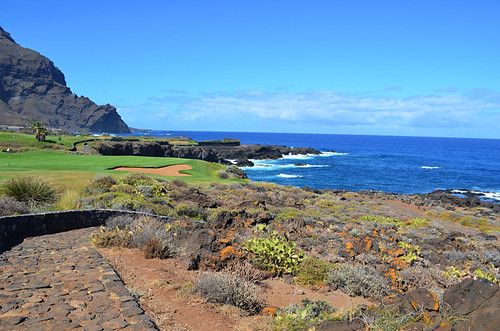 Golf course, Coastal path, Buenavista del Norte, Tenerife