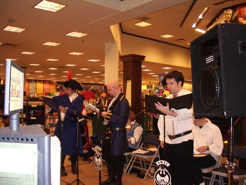ARTC performs at Barnes and Noble Perimeter for Talk Like a Pirate Day