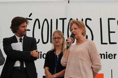 Christophe Ono-dit-Biot et Lydie Salvayre - Livre sur la Place 2014