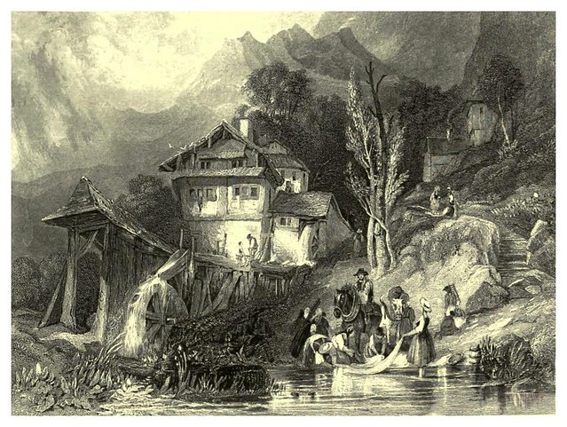 009-Lago de Lucerna-The gallery of British engravings…