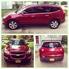 Our new ride! 2012 Chevy Traverse #reentry #picstitch