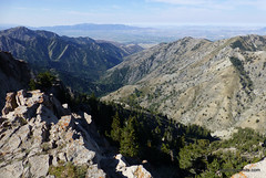 Cache Valley from Naomi Peak