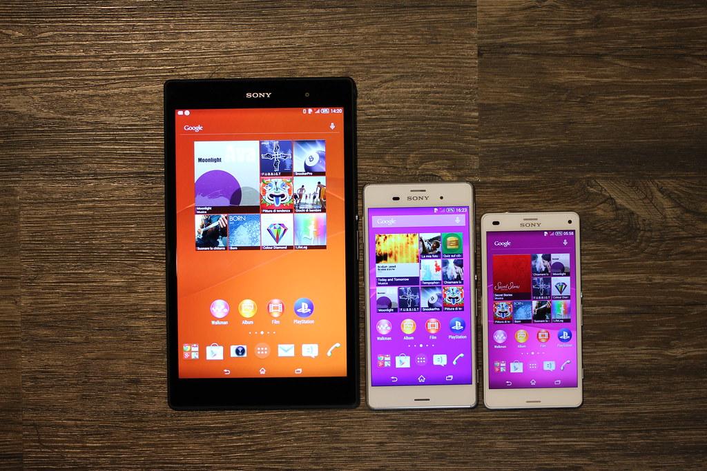 Sony Xperia Z3 family