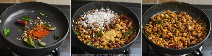 How to make navaratna sundal - Step4