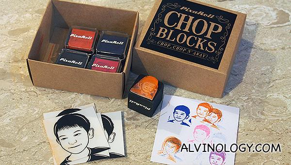 Chop Blocks set