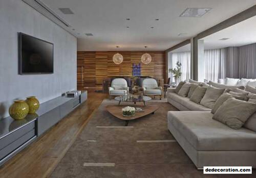 Apartment LA Showcases Rustic Contemporary Information In Brazil