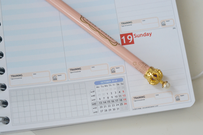 Daisybutter - UK Lifestyle and Fashion Blog: personal planner review