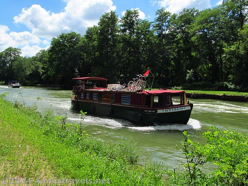 Packet boat on the Erie Canal, Pittsford, New York.