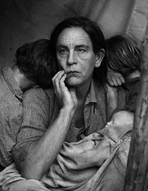 Sandro Miller, Dorothea Lange : Migrant Mother, Nipomo, California (1936), 2014