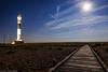 Dungeness Lighthouse - Moonlight