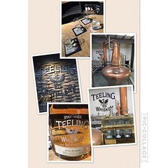 Hit up @teeling_whiskey after @guinnessireland yesterday had a #great #tour and #tasting