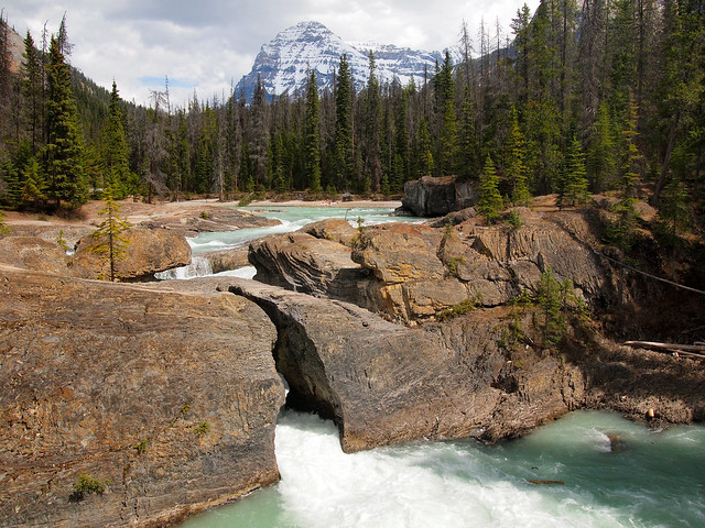 Natural Bridge in Yoho National Park, BC, Canada