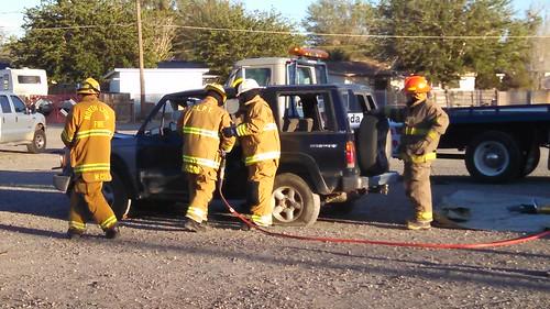 Fernley Fire Auto Rescue Demo