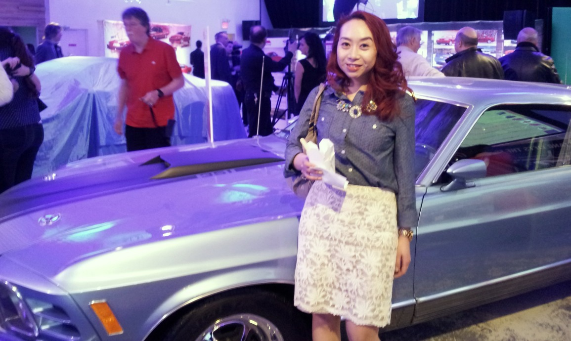 50-years-ford-mustang-event-1, vintage ford, Elaine Atkins, Toronto Beauty Reviews, event,