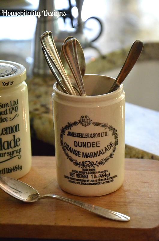Vintage Dundee Orange Marmalade Jar