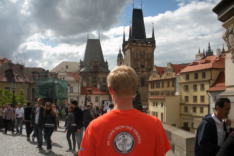 July 1, 2014 - From Old Virginia to Prague, then back to the new home in Austria. Submitted by alum Sarah Chase (CLAS '14).