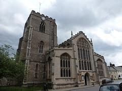 Bury St Edmunds - St Mary's Church
