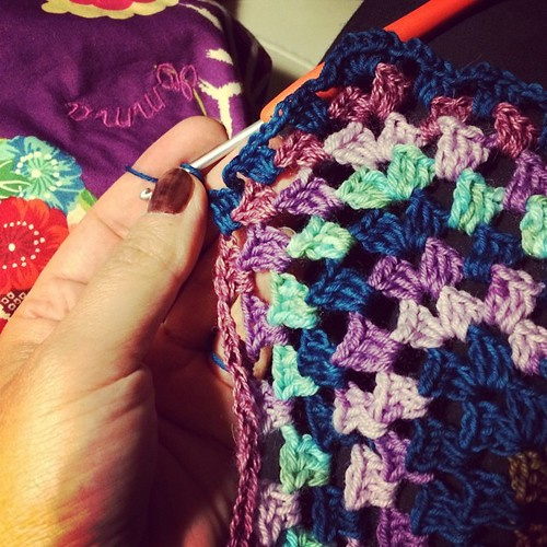 It's crochet night :) Serata crochet:)