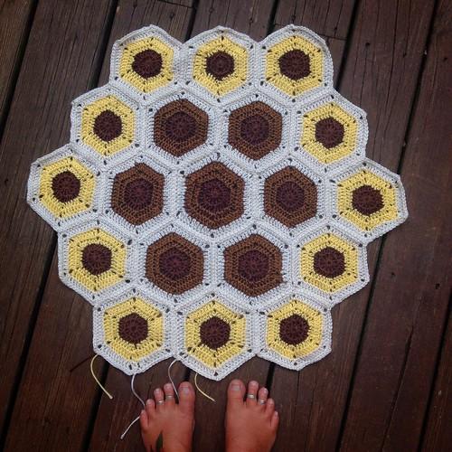 The beginning/Bee Lovers Blanket