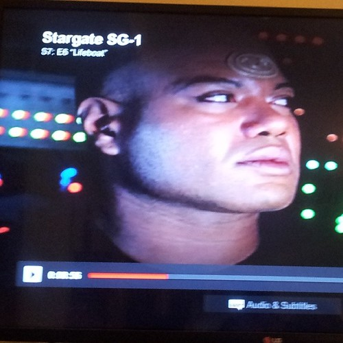 ...and Stargate SG-1. (that shld rly say dreamboat tbh. Mmmmm, Teal'c.)