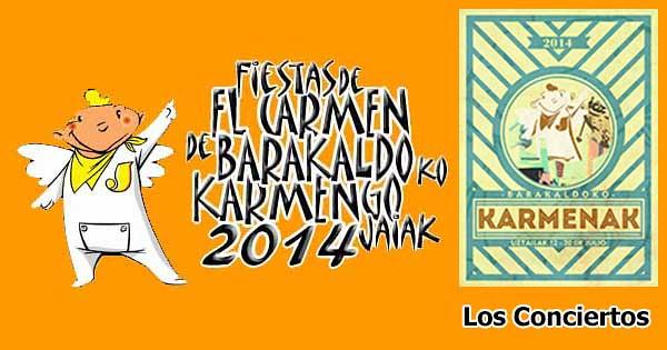 Carmenes Barakaldo  2014 Conciertos