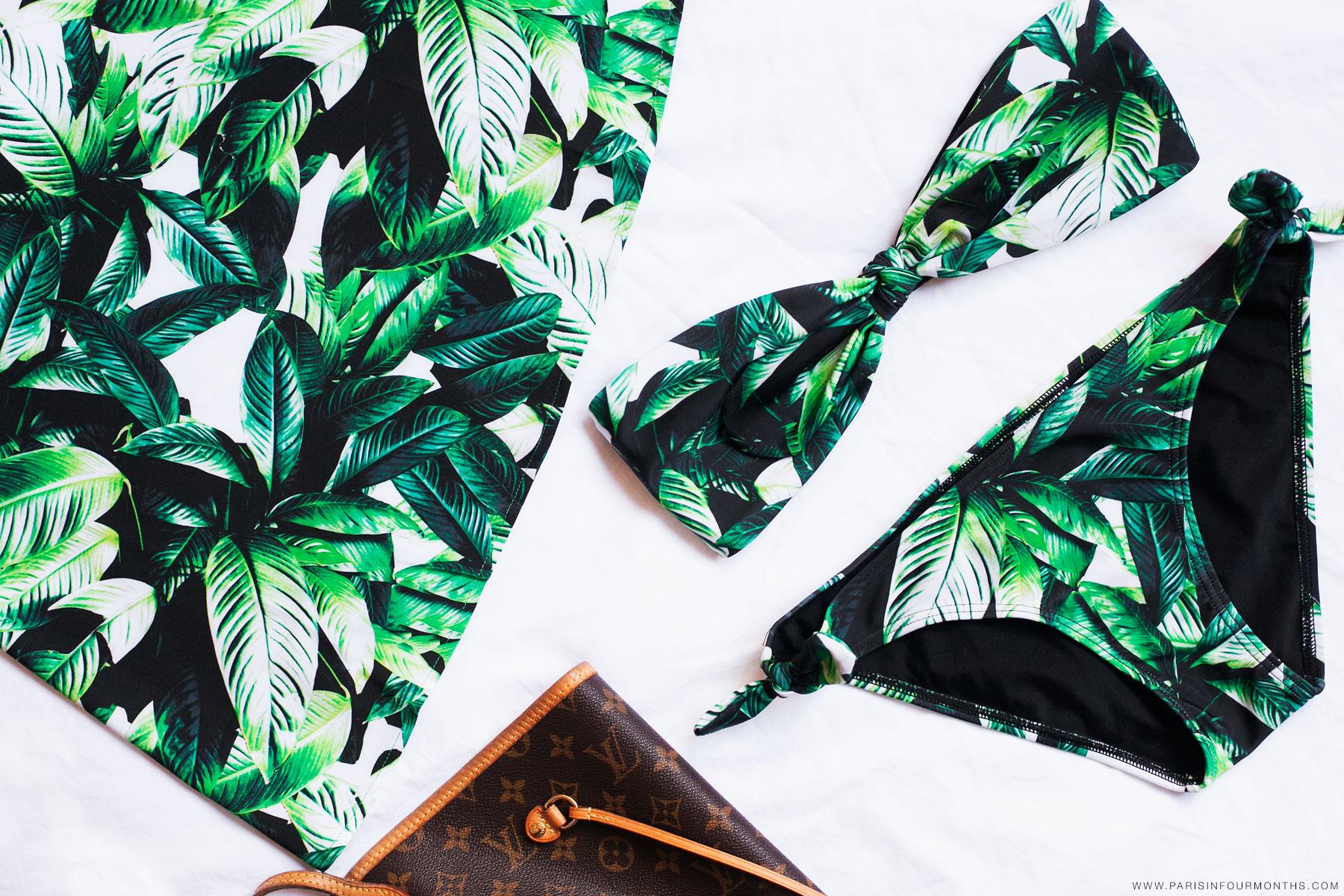 Jungle print bikini by Carin Olsson (Paris in Four Months)
