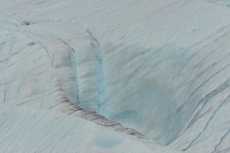 Glacier Waterfall - Wrangell St. Elias National Park