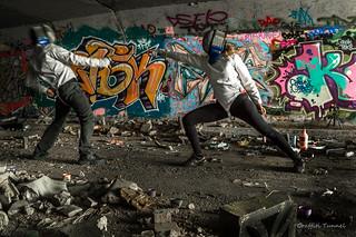 Brisbane Urbex Fencing