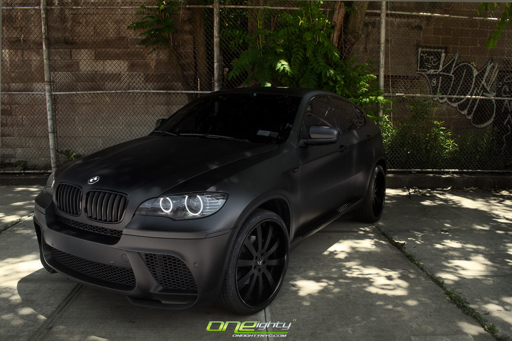 Blacked Out And Rimmed Up X6 5 0