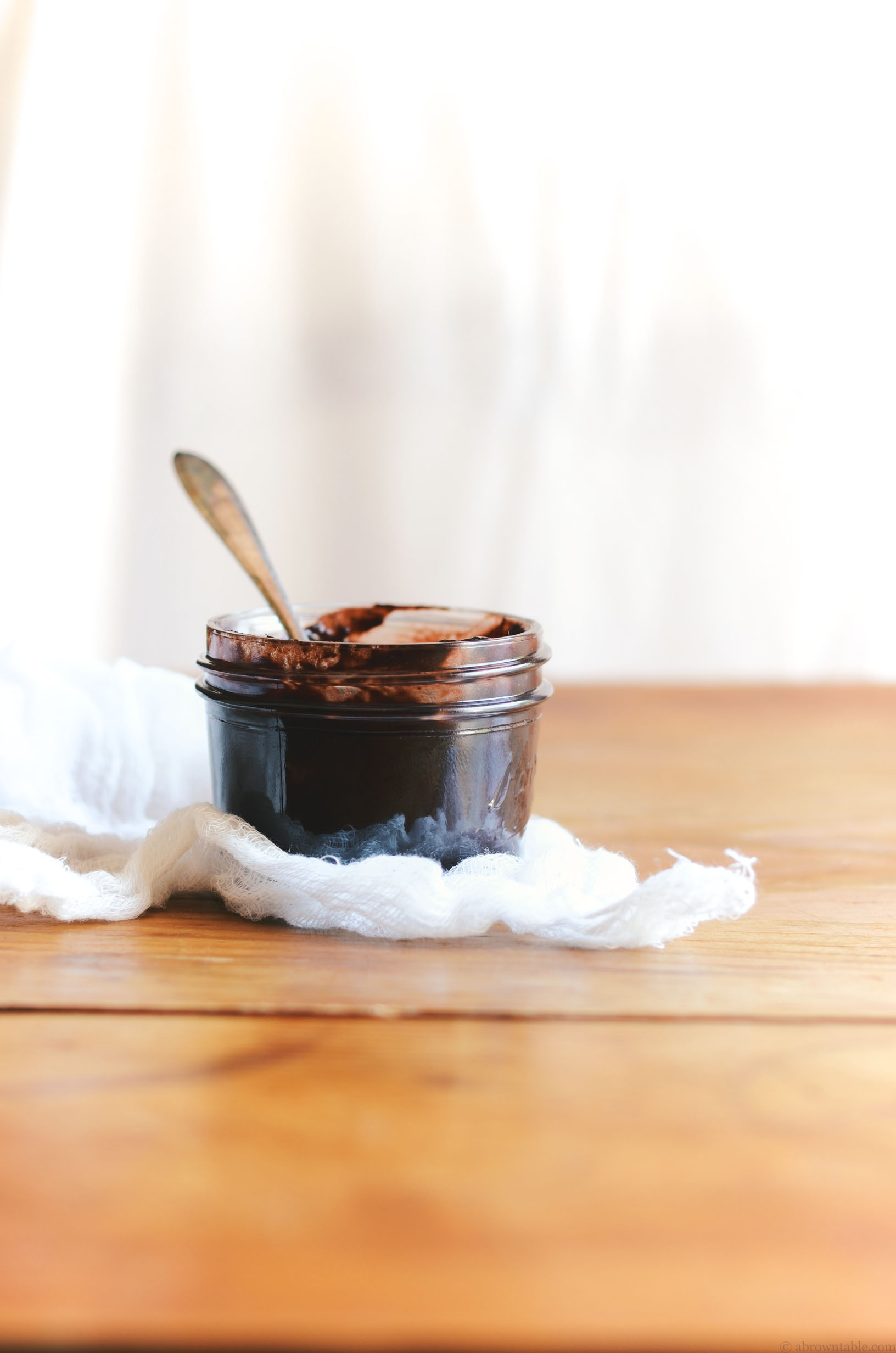 blueberry chocolate jam