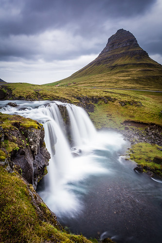 longexposure mountains beautiful canon eos waterfall iceland foss kirkjufell 1740 islande snæfellsnes 6d ndfilter bestplaceever longueexposition ndgrad ef1740f4lusm gradnd vesturland leefilters canon6d littlestopper