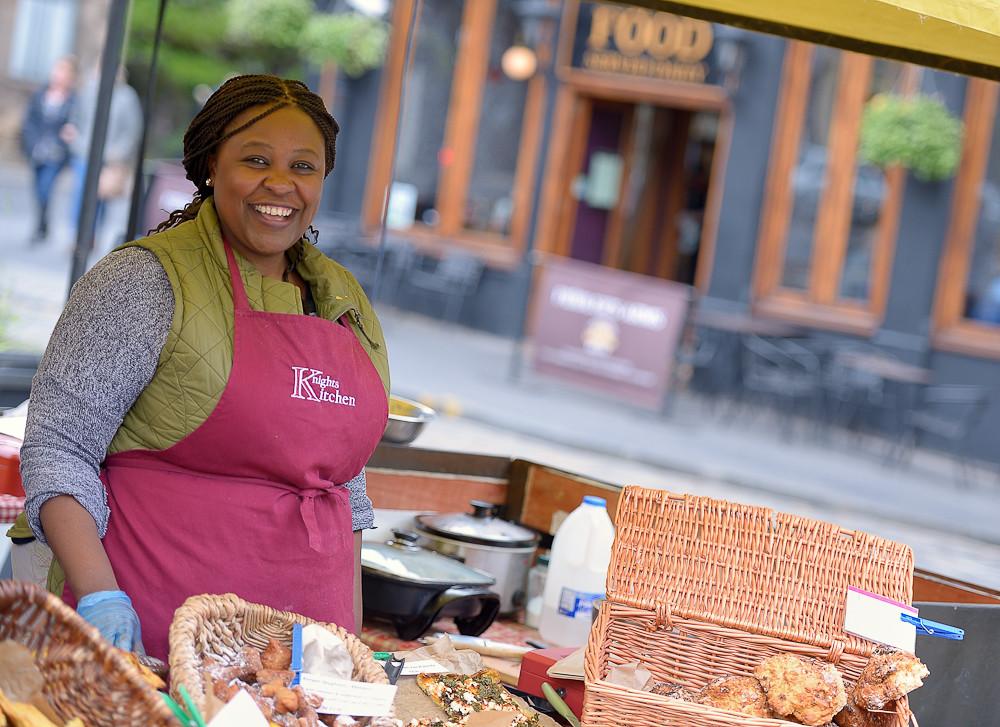 Knights Kitchen Stall Farmers Market Food Stall In Edinbur