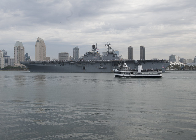 SAN DIEGO - Nearly 4,000 Sailors and Marines from the Makin Island Amphibious Ready Group (ARG) and 11th Marine Expeditionary Unit (MEU) departed San Diego on July 25 for a deployment in support of the Navy's maritime strategy.