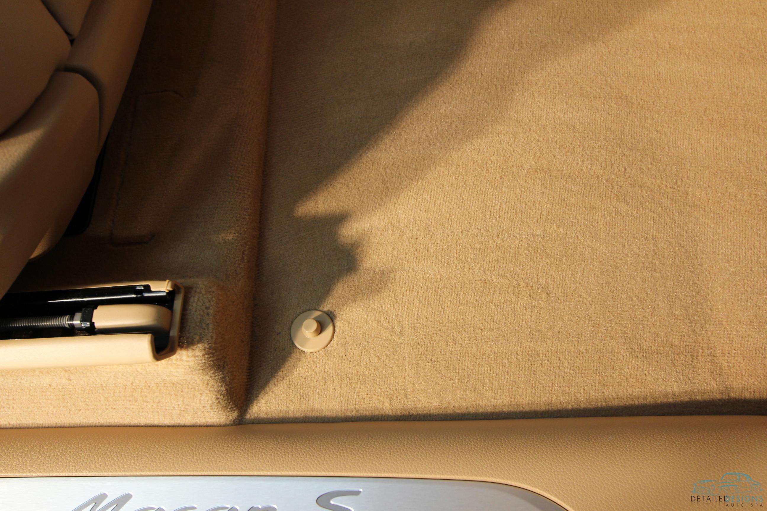 Porsche Atlata Interior Detailing