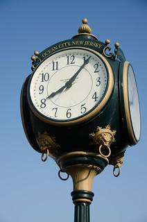 Boardwalk Clock