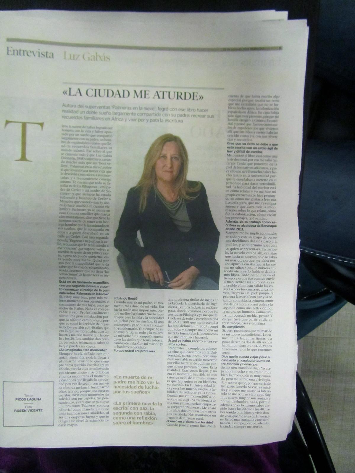 Entrevista a Luz Gabás