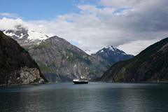 Passage to Sawyer Glacier, Alaska.