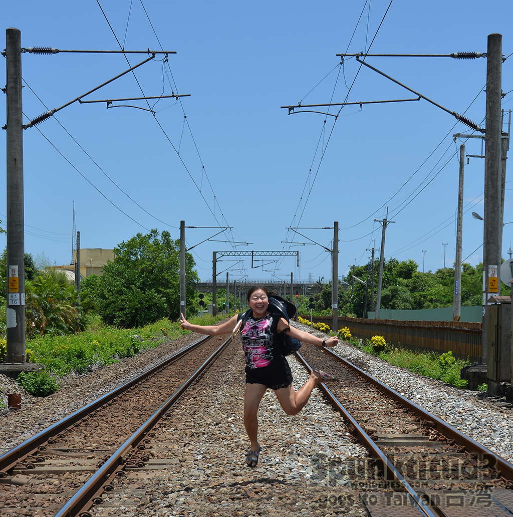 Railway Jumpshot at Yilan Railway