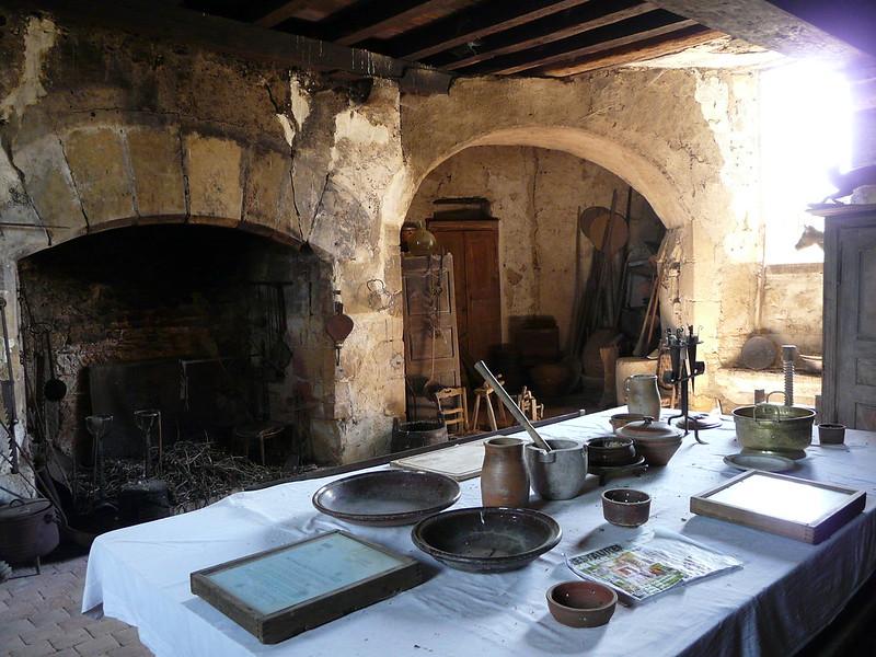 Interior castillo de Sarzay