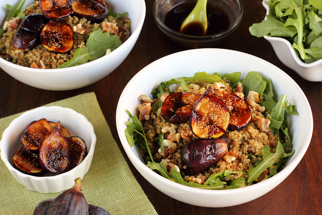 Balsamic Honey Grilled Fig Bowl