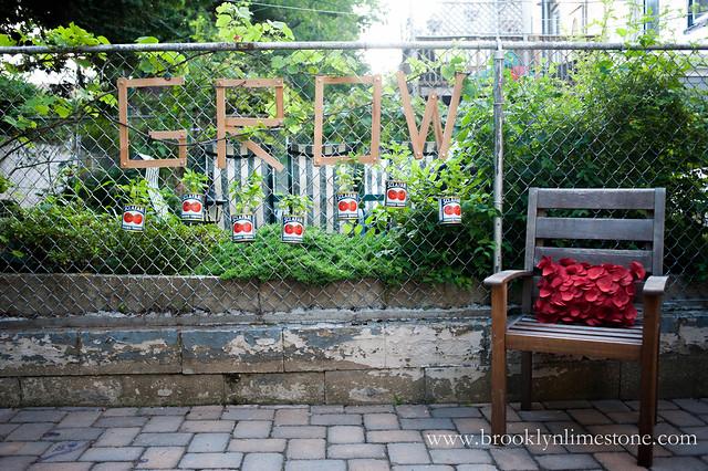 Grow Basil Garden | www.brooklynlimestone.com